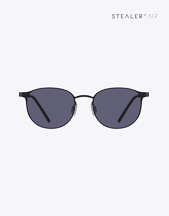 FUZZ KIDS STL01 BLACK - STEALER EYEWEAR